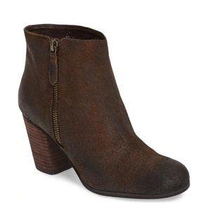 BP. 'Trolley' Bootie leather heel